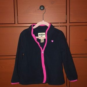 Oshkosh Girls Fleece jacket.